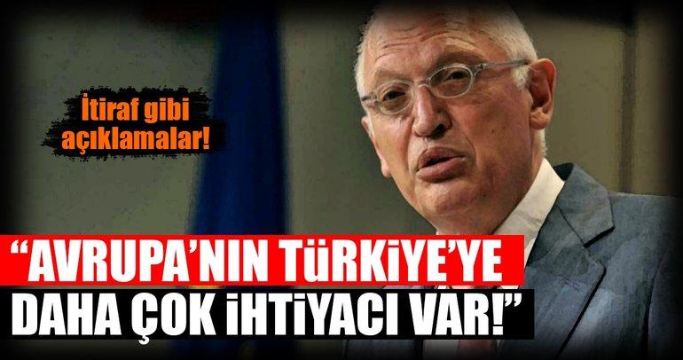 """Son dakika: Verheugen: """"Türkiye'nin Avrupa Birliği'ne ihtiyacından çok..."""