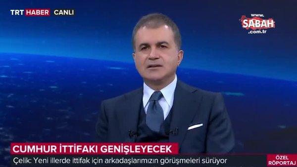 AK Parti Sözcüsü Ömer Çelik'ten canlı yayında önemli açıklamalar