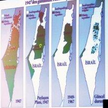 İsrail Filistin'i gasp ediyor