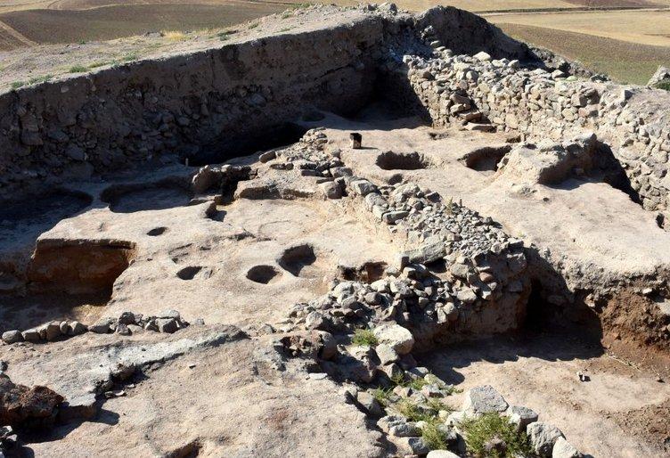 4000 yıllık şehirde 9 yapı katı tespit edildi