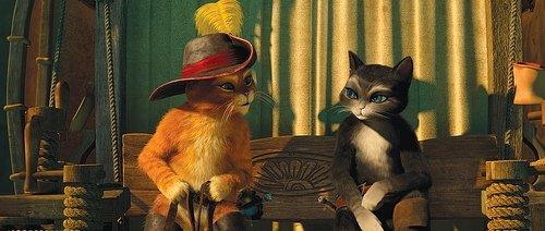 Çizmeli Kedi  filminden kareler