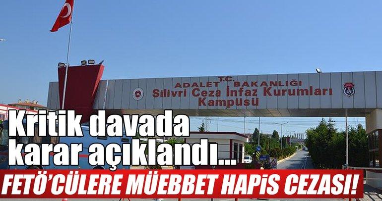 FETÖ'nün Türk Telekom'u işgal girişimi davasında 2'si ağırlaştırılmış 6 müebbet