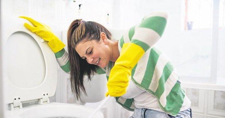 Tuvalet için en etkili dezenfektan çamaşır suyu