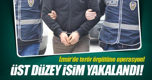 İzmir'de terör örgütüne büyük darbe!