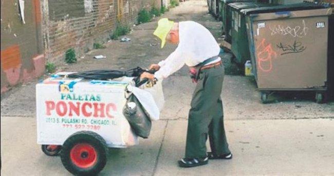 Yaşlı dondurmacı için dünya seferber oldu