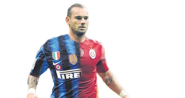 Sneijder ile beşi bir yerde
