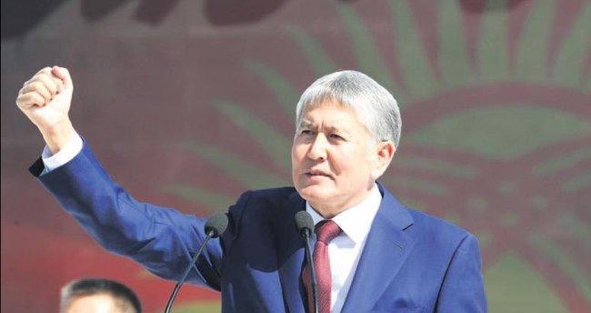 Atambayev İstanbul'da rahatsızlandı