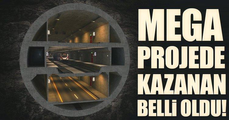 '3 Katlı Büyük İstanbul Tüneli Projesi' ihalesinin kazananı belli oldu