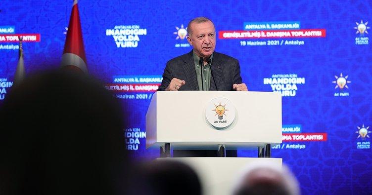 Son Dakika: Başkan Erdoğan'dan Millet İttifakı'na sert tepki: Bunlar PKK ile ittifak halindeler