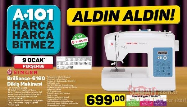 A101 aktüel ürünler kataloğu burada! A101 aktüel ürünler 9 Ocak'tan itibaren bu hafta büyük indirim sizleri bekliyor!