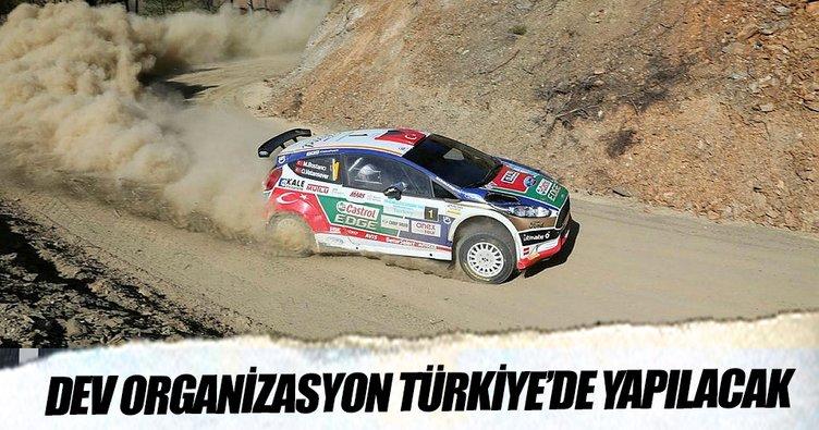 Türkiye, 2018 Dünya Ralli Şampiyonası'nın ev sahibi