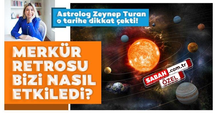 Son dakika | Merkür Retrosu bizi nasıl etkiledi? Astrolog Zeynep Turan o tarihe dikkat çekti!