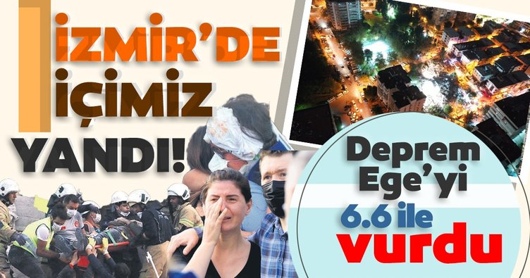 İzmir'de içimiz yandı