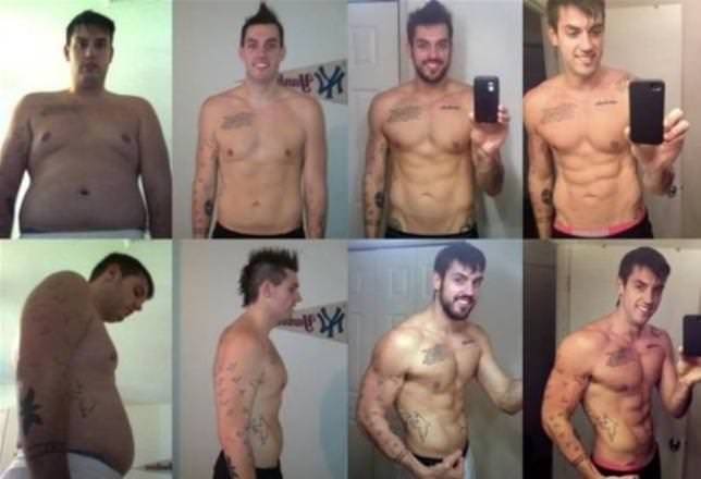 Sıradan erkeklerin inanılmaz değişimi