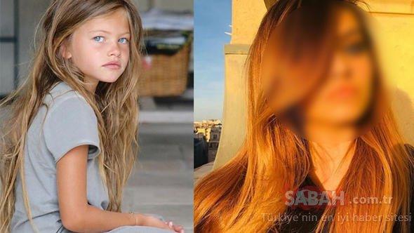 Daha 4 yaşındayken dünyanın en güzel kızı seçildi... Thylane Blondeau'nun tatil pozuna beğeni yağmuru!