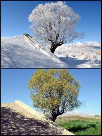 İşte dört mevsim Türkiye