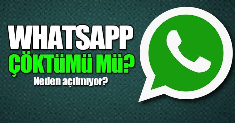 Whatsapp çöktü mü, neden açılmıyor? - Whatsapp'a ne oldu? - İşte yanıtı