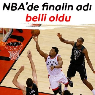 NBA'de finalin adı belli oldu: Golden State Warriors - Toronto Raptors