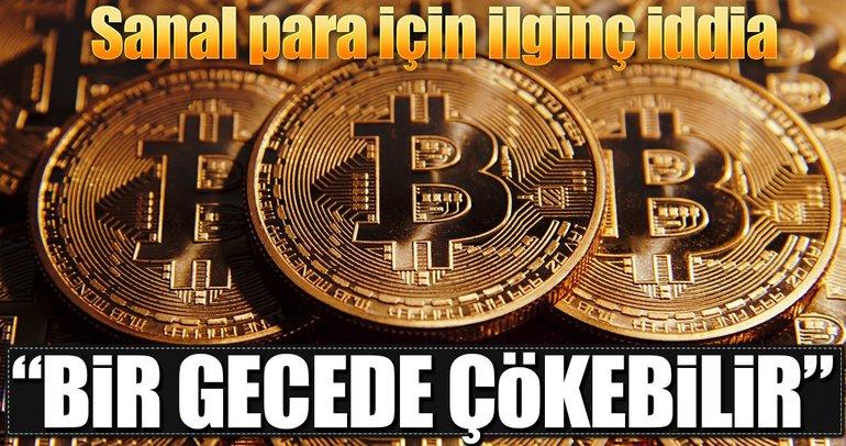 Bitcoin bir gecede çökebilir