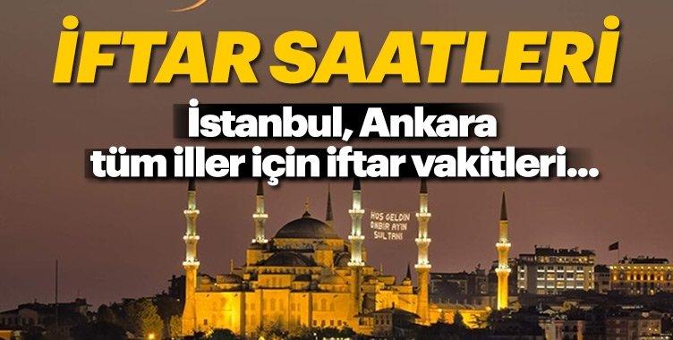 Ramazan 2018 imsakiye! İstanbul, Ankara il il iftar saatleri burada / İftar vakti ne zaman?