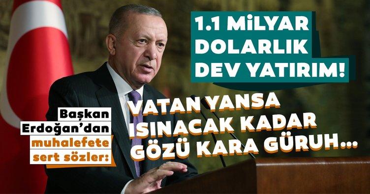 Son dakika haberi: Başkan Erdoğan'dan muhalefete çok sert gönderme: Vatan yansa ısınacak kadar gözü kara güruh...