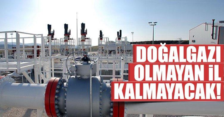 81 ilde doğalgaz dönemi başlıyor
