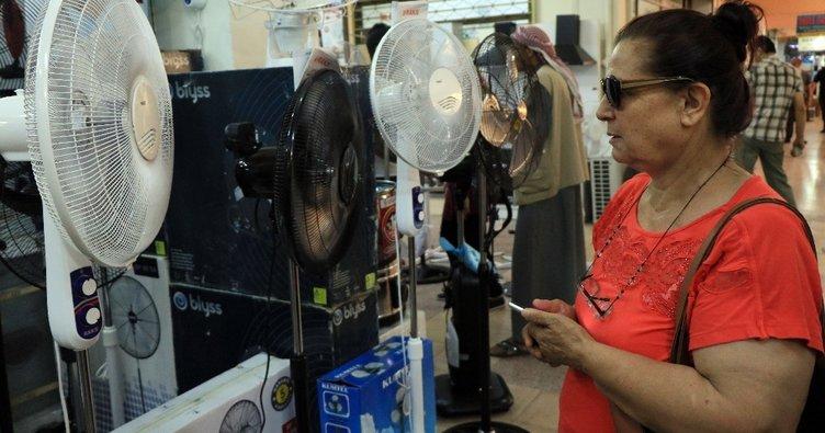Adana'da sıcaklar vantilatör satışlarını arttırdı