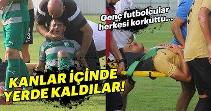 Çaykur Rizespor - Bursaspor U21 maçında herkesi üzen sakatlıklar!
