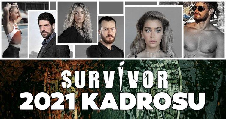Survivor 2021 yarışmacıları kimler? İşte 2021 Survivor Ünlüler ve Gönüllüler takımında yer alan yarışmacılar!
