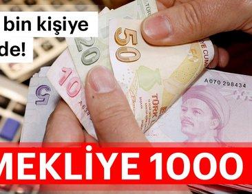 Emekliye en az 1000 TL alacak! - 2019 Emekli...