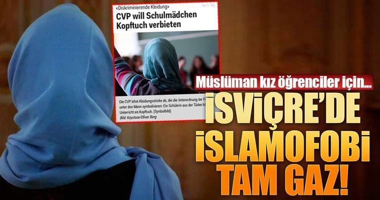 İsviçre'de İslamofobi tam gaz!