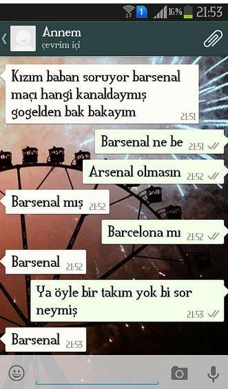 En komik 'Whatsapp' konuşmaları!