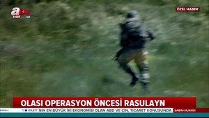 A Haber Fırat'ın doğusunu görüntüledi! İşte PKK/PYD'li teröristlerin kirli oyunu!