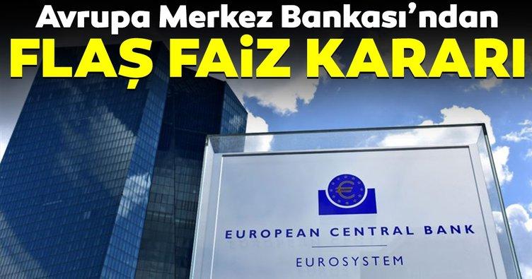 ECB varlık alım programına başladı, faizleri düşürdü!