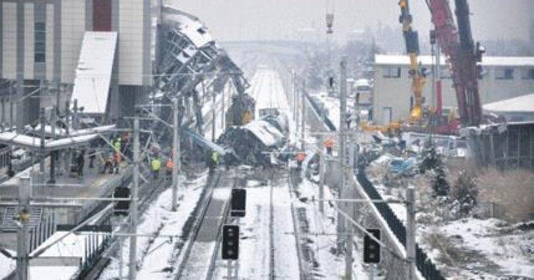Tren kazası soruşturmasında sona gelindi