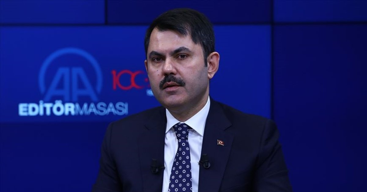 Son dakika! Çevre ve Şehircilik Bakanı Murat Kurum'dan önemli açıklamalar