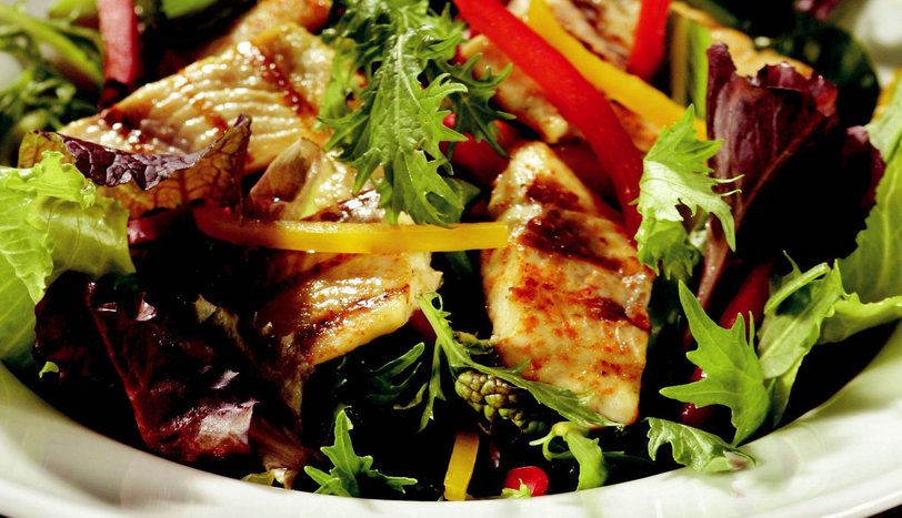 Alabalık Salatası