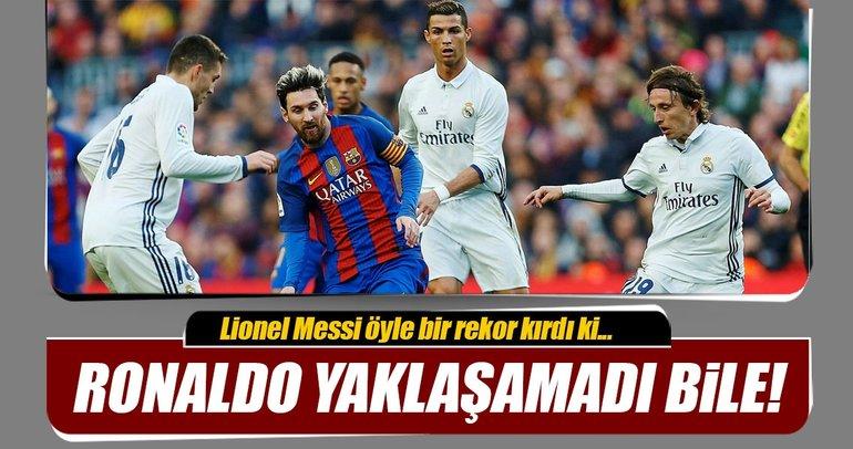 Cristano Ronaldo'nun kıramadığı Lionel Messi rekorları