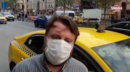 """Taksici Oğuz Kaan Ünver, """"kimi taşıdığımızı bilmiyoruz can güvenliğimiz yok"""""""