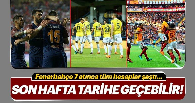 Fenerbahçe'nin 7 golü her şeyi değiştirdi! Şampiyonluk senaryoları...