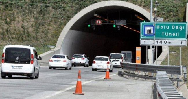 500 binden fazla araç o tüneli kullandı