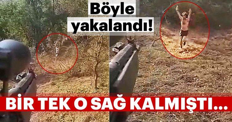 Son Dakika: Jandarma, PKK'lı teröristi böyle gözaltına aldı