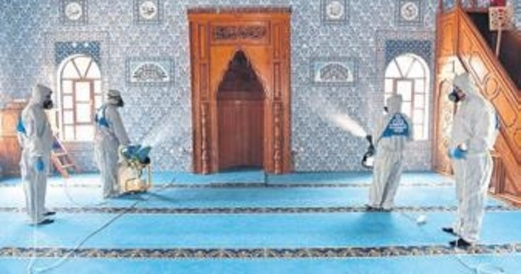 Kepez'de 158 cami açılışa hazırlanıyor