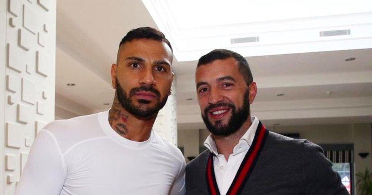 Simao'dan Beşiktaş'a ziyaret