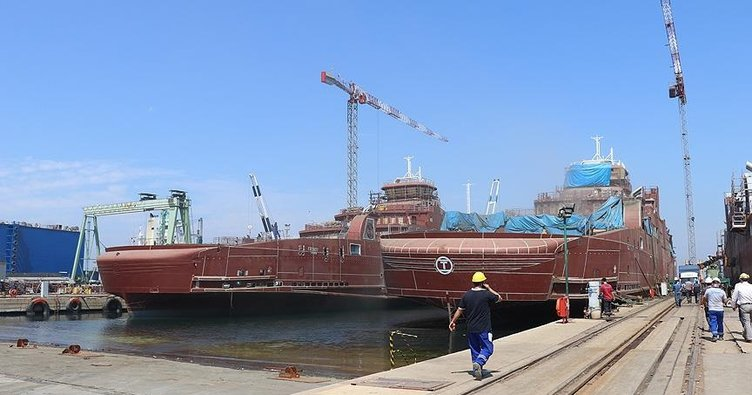Türk tersanelerinde üretilen elektrikli gemiler dünya denizlerine açılacak