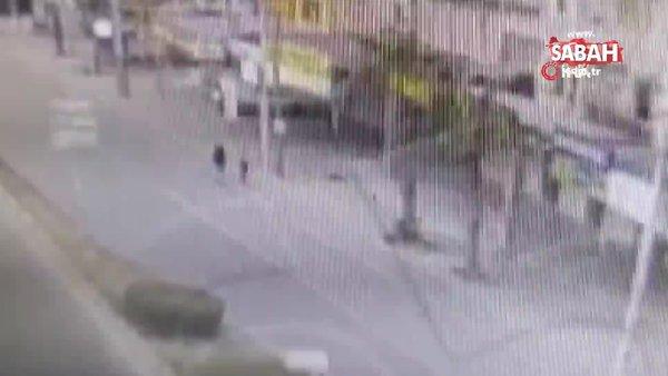 Çaldıkları motosiklet ile benzin aldılar, yakalandılar | Video