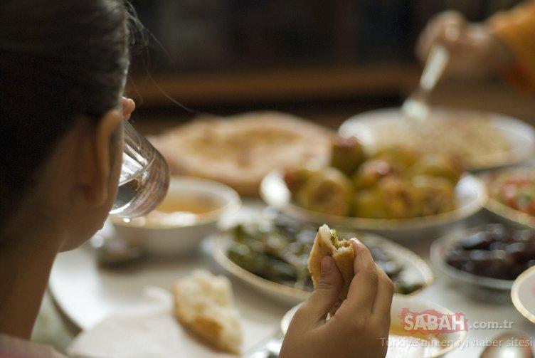 Sağlıklı Ramazan sofraları için 10 öneri...