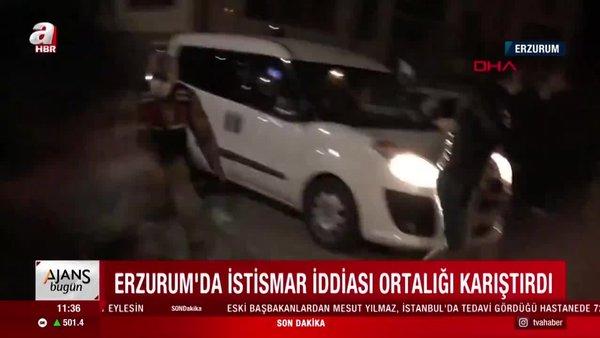 Erzurum'da iğrenç olay! Erkek çocuğunu ağaca bağlayıp tecavüz etmeye çalışan sapık yakalandı | Video