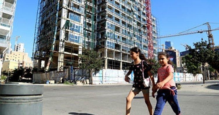 Patlamanın ardından Beyrut sokakları!