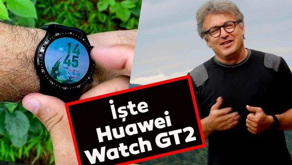 İşte Huawei Watch GT2'nin özellikleri ve incelemesi... Sağlığınız için saate bakmayı unutmayın! | Video
